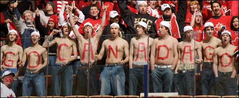 With all your 'passion' Canadians, you'll get over it!