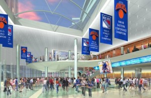 Artist rendering of the new and improved MSG