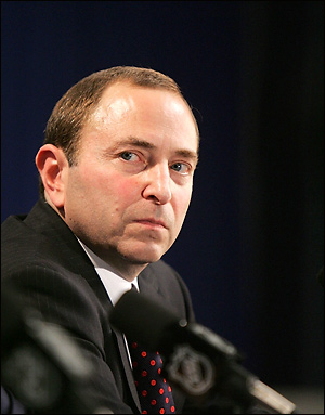 Gary Bettman: Doth he protest 'too much'?