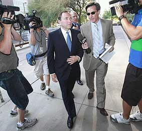 According to Brahm Resnik, Gary Bettman was very 'chipper' going to court yesterday. How sweet!