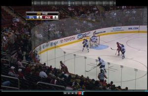 Kim tells us the attendance figure is not there for this game on NHL.com - a picture is worth 5000 words.